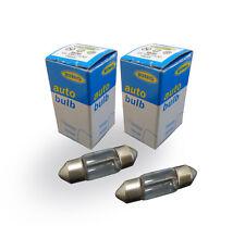 Genuine ring automotive 269 12v 10W S8.5d 11mm x 30mm feston ampoule x2-LB269