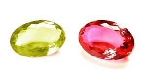 38.10 Cts. Natural Alexandrite Multi Color Change Oval Shape Certified Gemstone