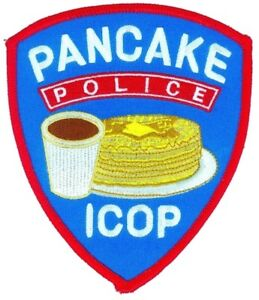 "Pancake Police ICOP Patch 5"""