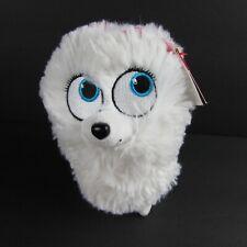 Ty Beanie Babies Gidget The Secret Life Of Pets White Pomeranian Dog 6