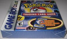 Pokemon Trading Card Game (Nintendo Game Boy Color) Sealed! h-seam!