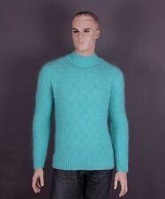 Mohair Pullover Farbe: neongrün und Größe: XL oder XXL (nach Wahl)