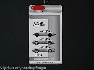 Porsche 911 Classic Anhänger für Ölwechsel für 10 W 60 für 911 ab 3.0 Liter,
