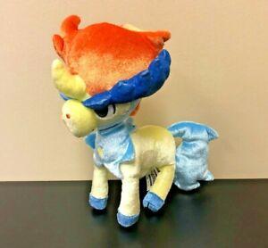 "Pokemon Keldo 10"" Long Stuffed Plush - Shiny Sparkle - Yellow Horse - Horn"