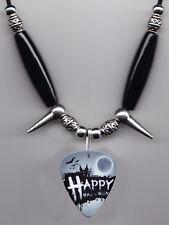 Happy Halloween Guitar Pick Necklace