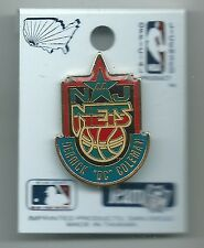 "New Jersey Nets Derrick ""DC"" Coleman Pin Stamped NBA Properties, Inc. 1993"