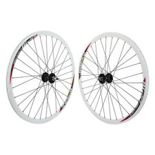 Weinmann DP18 White fixed gear Track Bike SingleSpeed Wheelset 700c DT spokes