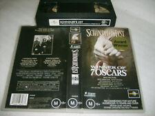 *SCHINDLER'S LIST* Australian VHS as new!