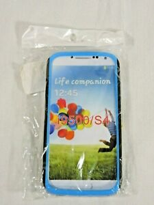 Celicious Blue Hybrid Combo Case For Samsung Galaxy S4 i9500 NEW In Package