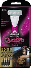 Wilkinson Sword Quattro For Women Wonder Woman Bikini Razor With Hair Trimmer