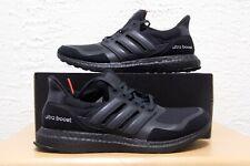 Adidas Ultra Boost S&L Mens Size 8.5 Black Granite Reflective Suede EF1361