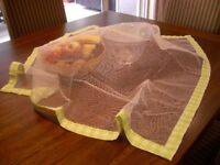 140cm x 140cm Food Net Cover Picnic BBQ Party Fresh Mesh Insects Pests Outdoor