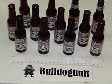 Vintage Budweiser vs. Bud Light Checkers Game All 12 Bud Light Part Bottles Only