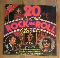Various ‎– 20 Original Rock & Roll Classics Vinyl LP Comp 33rpm 1974 PLE 7004