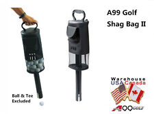 A99 Golf shag bag II Convenient Pocket and Tees Pick Up Ball Storage  with Net