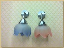Applique, Lampada da Muro,ottone cromato a Snodo articolo AP/310 (V12 Rosa)