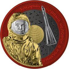 2021 Germania Interkosmos: Gagarin Orbital 1 oz Silver Colored *PRESALE*