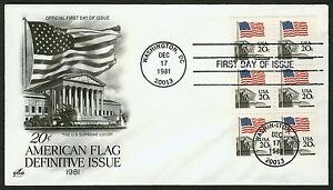 #1896a 20c Flag Over Supreme Court, Art Craft FDC **ANY 4=FREE SHIPPING**
