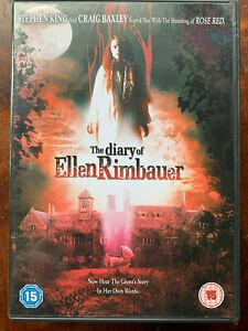 """The Agenda De Ellen Rimbauer """" DVD 2003 Stephen King Horreur Film W / Lisa"""