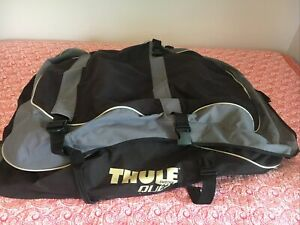 Thule Quest 846 Roof Top Cargo Bag Carrier 13 cu. ft. Silver & Gray
