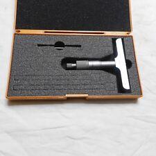 Mitutoyo 128-102 0-25mm Depth Micrometer