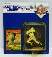 KEN GRIFFEY JR - Seattle Mariners Starting Lineup SLU MLB 1995 Figure & Card NEW