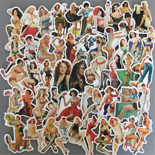 50Pcs Pvc Sexy Beauty Girls Sticker Phone Laptop Skateboard Luggage Decal ToyFSC