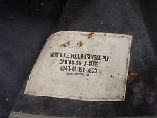 VESTIBULE FLOOR (SINGLE PLY) 8340-01-186-3024