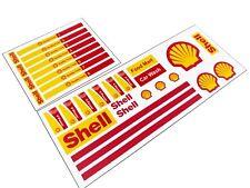Lego Shell Gas Station Custom Stickers Sheet - Pre Cut