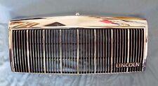 NICE Original Factory 90-92 Town Car CHROME Grille Insert Emblem & Nameplate