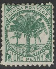 SAMOA SG88 1899 ½d DULL BLUE-GREEN MTD MINT