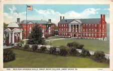 D97/ Sweet Briar College Virginia Va Postcard 1930 Reid Grammar Halls College