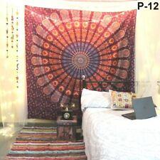Round Hippie Floral Tapestry Beach Throw Towel Mandala Boho Mat Bikini Cover-u