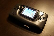 Sega Game Gear with new TFT LCD Screen, Amazing picture! VGA out - AC Adaptor