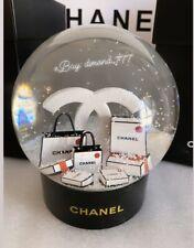 ‼️CLEARANCE ❄️🎄Brand New CHANEL 2019 X'mas ViP Gift Rare Luxury Snow Globe 🎄❄️