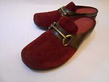 Rockport DMX Waterproof Women Mules Clogs Leather Backless Shoes 8.5W 523888