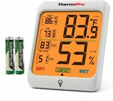 Hygrometers Digital Indoor Thermometer Room And Humidity Gauge With Monitor,Tp53