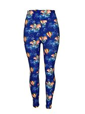 Dumbo Leggings Tall & Curvy Blue Sky Background Popcorn Seal Mouse TC Stars Soft