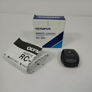Olympus IR Remote Control RC-200 NEW Old Stock in box with manual