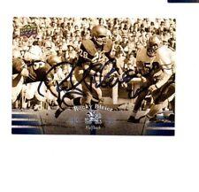 Rocky Bleier Notre Dame Irish hand signed autographed 2013 Upper Deck card ND