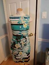 cache floral dress 12.    #915
