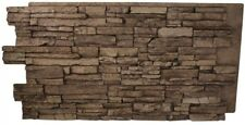 Cinnamon Stacked Stone Panel Wall Superior Building Supplies Faux Grand Heritage