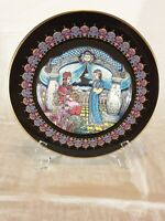 """RARE Villeroy & Boch plate """"The Stone Flower""""-Limited Edition-Made in W. Germany"""