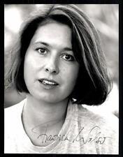 Franziska Walser original foto de prensa firmado original # g 11022