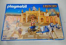 Playmobil 5837 Romano Gladiador Arena listados como se utiliza daños Caja no abrir
