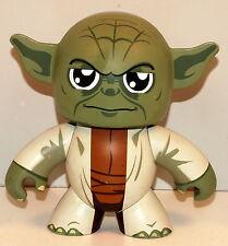 "2008 Master Yoda 5"" Star Wars Hasbro Mighty Muggs Action Figure"