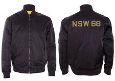NIKE SPORTSWEAR NSW REVERSIBLE DESTROYER JACKET XL BLACK YELLOW 443877 010 MA-1