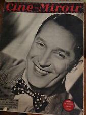 REVUE  CINE-MIROIR 808 Oct-1946  GREER GARSON MAURICE CHEVALIER BOURVIL...