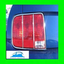 2005 2006 2007 2008 2009 FORD MUSTANG 6-PIECE CHROME TAILLIGHT TRIM MOLDINGS