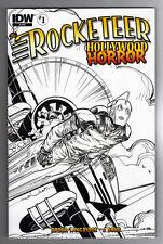 ROCKETEER: HOLLYWOOD HORROR #1 WALTER SIMONSON VARIANT COVER RI - 1/10